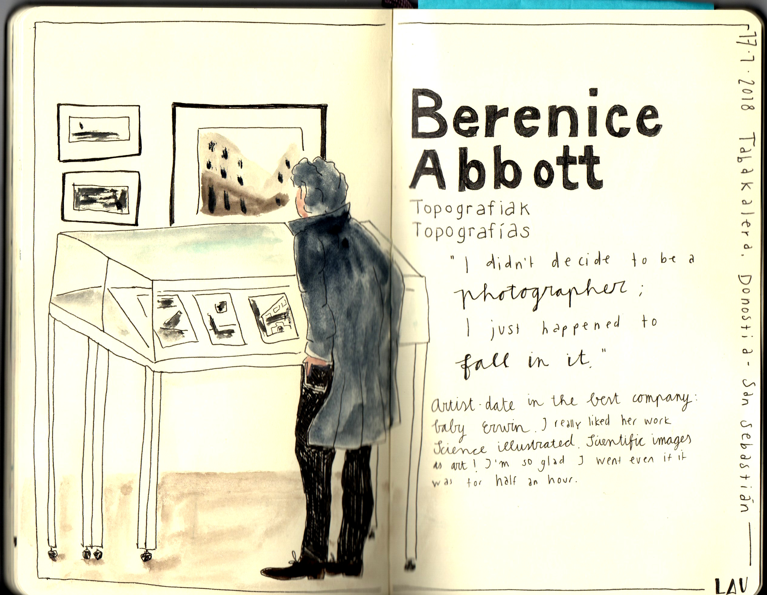 Artist date Laurien Baart