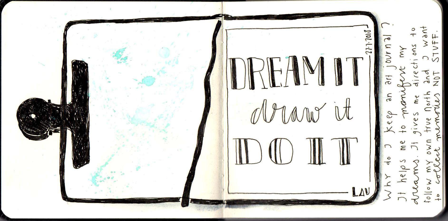 Dreamit Drawit Doit 1 Laurien Baart