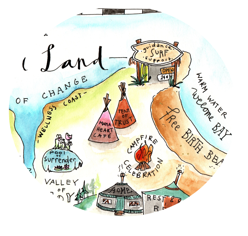 Envision jouw nieuwe verhaal 'map of Labour Land'